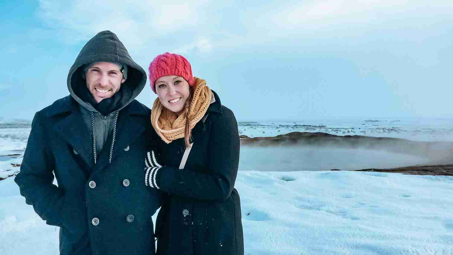 Travel as a couple in the winter to Iceland