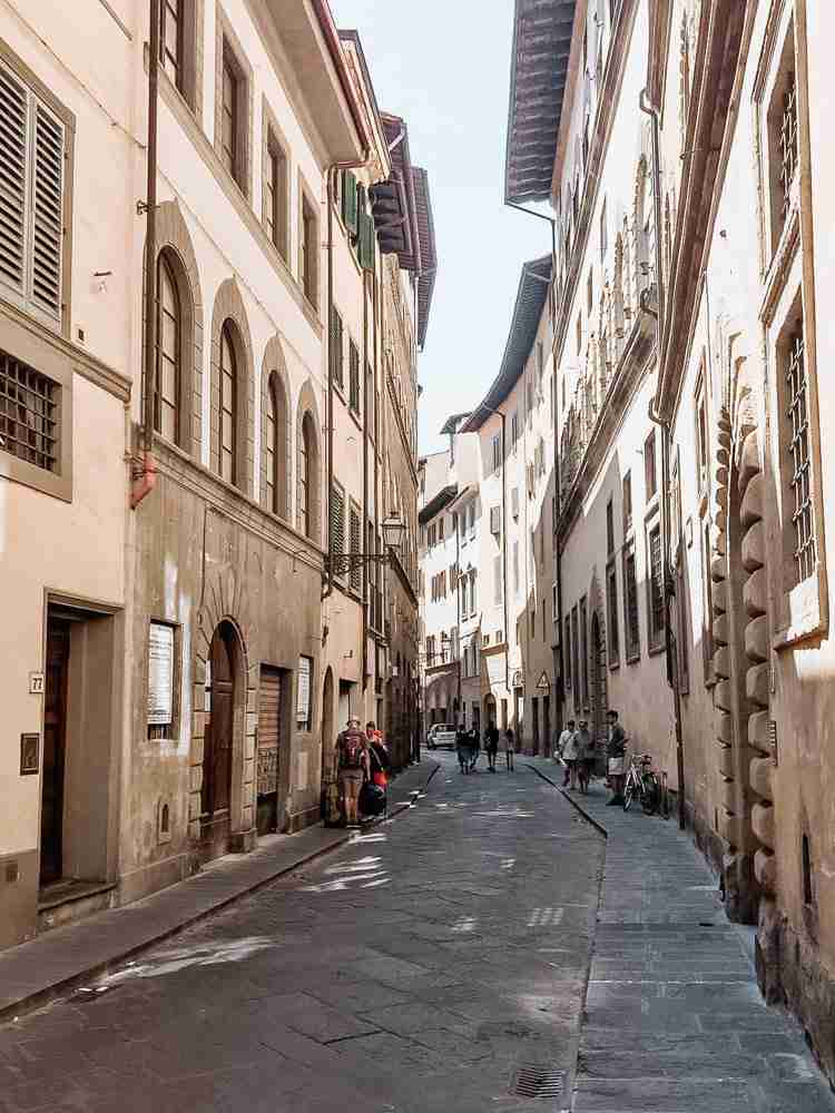Streets of Florence walk to add to trip itinerary