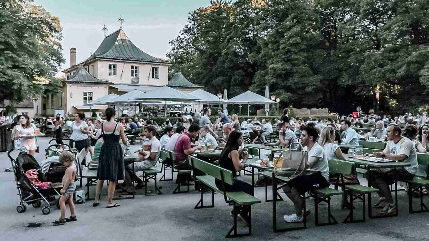 Munich Beer Garden is a must when you plan your trip