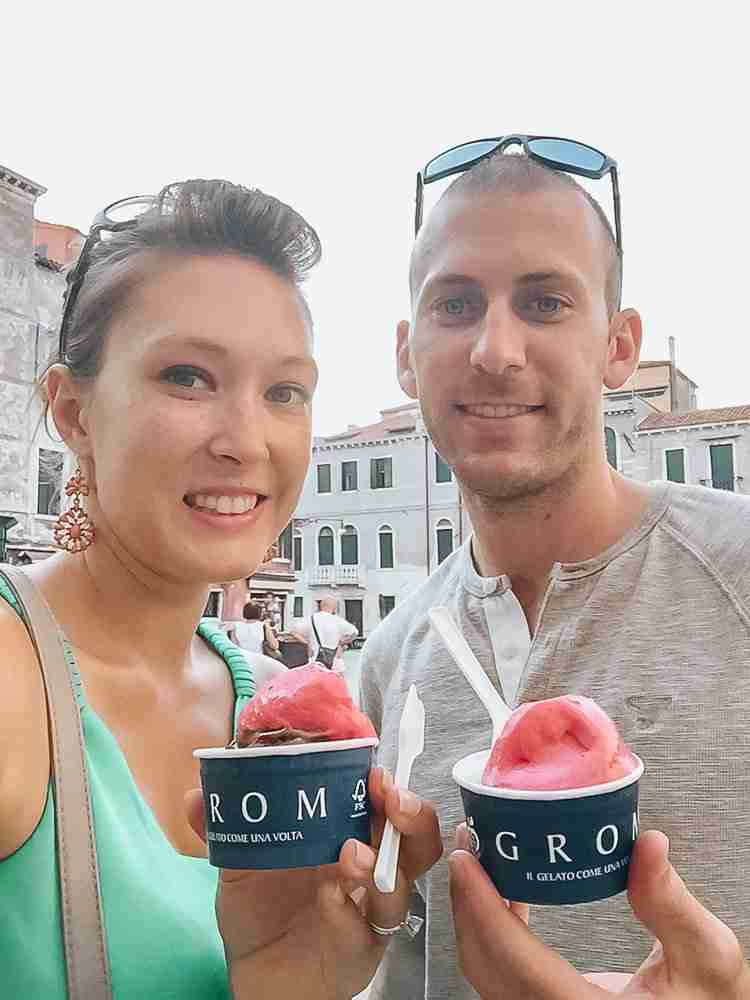 Best time to visit venice is in the summer for gelato