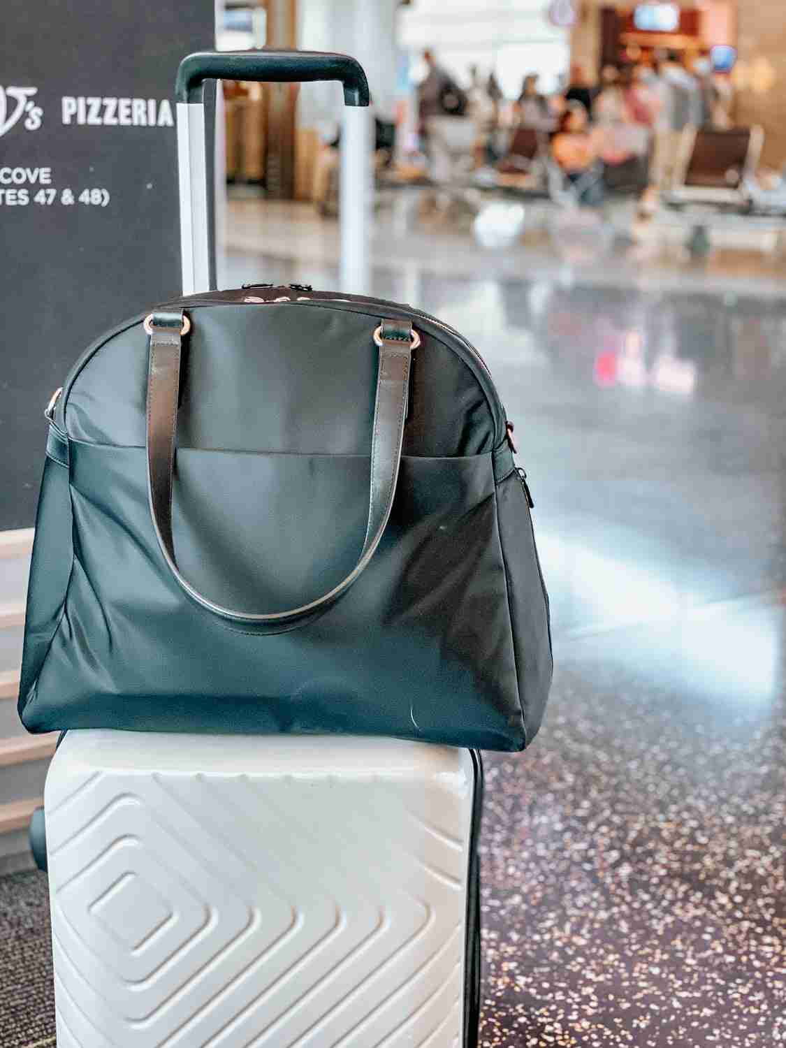 carry-on bags at airport