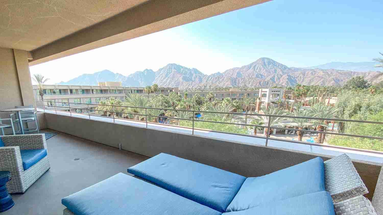 Palm Springs balcony room view