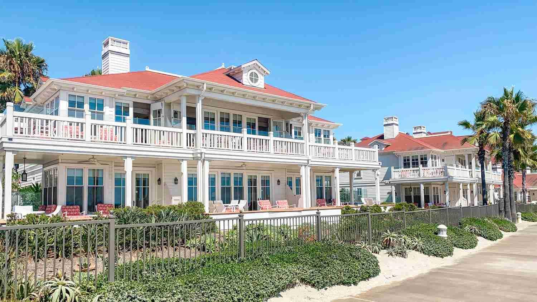 Hotel Del Coronado beach villa in San Diego