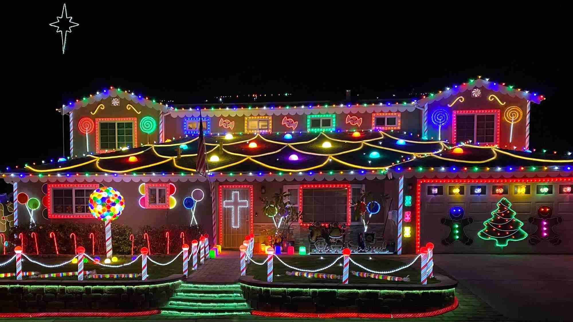 San Diego Neighborhood Christmas Lights
